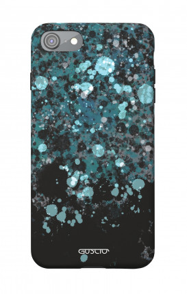 1. Cover Soft Touch Apple iPhone 7/8/SE - Blue Sprinkle