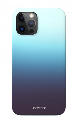 """Soft Touch Case Apple iPhone 12 6.1"""" - Blue Evanescence"""