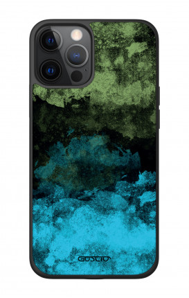 "Apple iPhone 12 6.7"" Two-Component Cover - Mineral Black Lime"