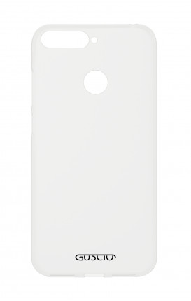Cover Crystal Huawei P Smart - Logo