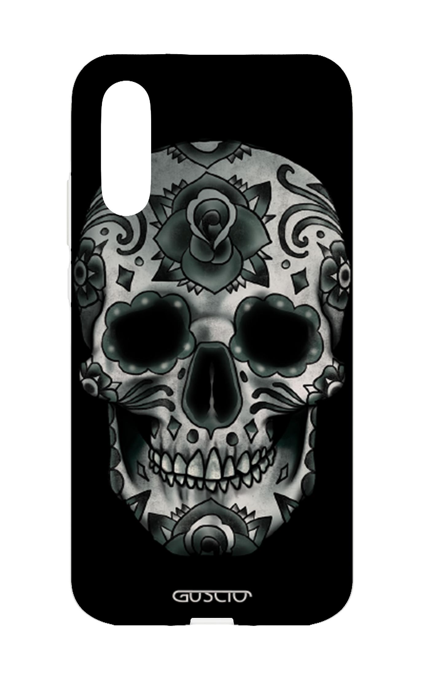 Cover TPU Huawei P20 PRO - Dark Calavera Skull