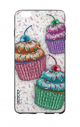 Apple iPhone 6 WHT Two-Component Cover - Cupcakes